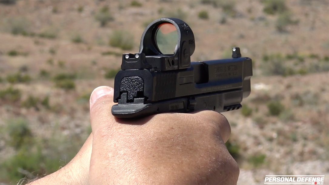 Trijicon SRO Red Dot Sight Test