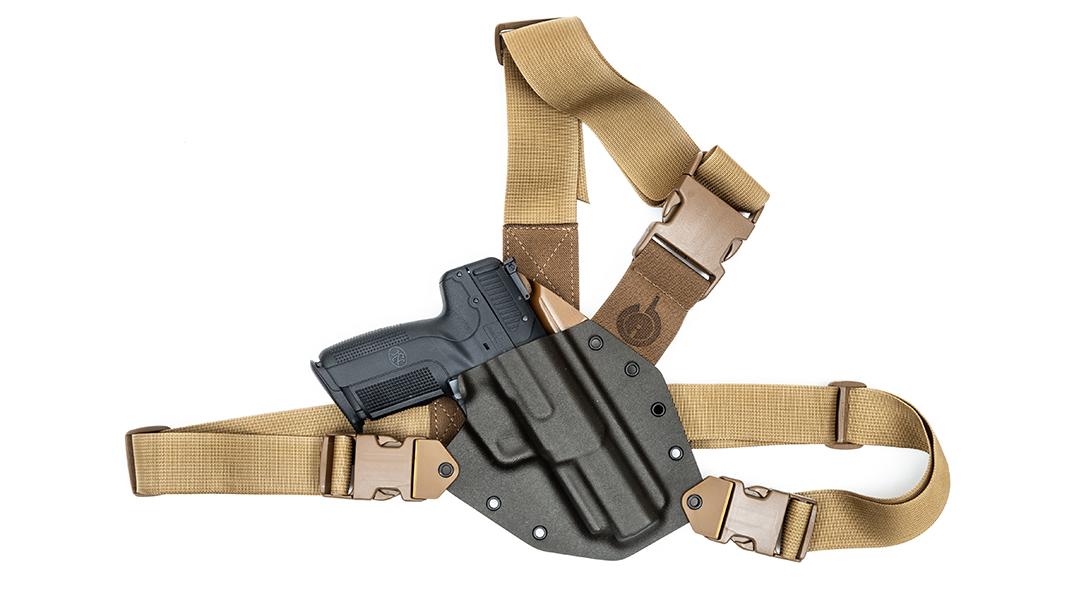 GunfightersINC Kenai, holsters, white