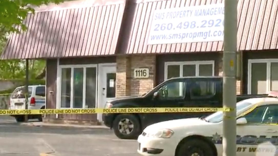 Indiana Customer Shoots at Robber, Gets Shot