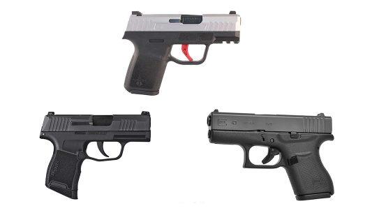 Naroh Arms N1 Pistol, SIG P365, Glock 43, Subcompact pistols