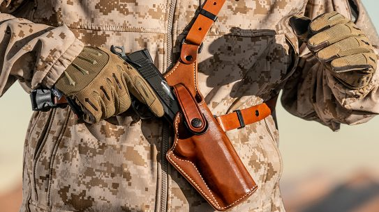 Chest Holster Options, holsters, Galco Gunleather