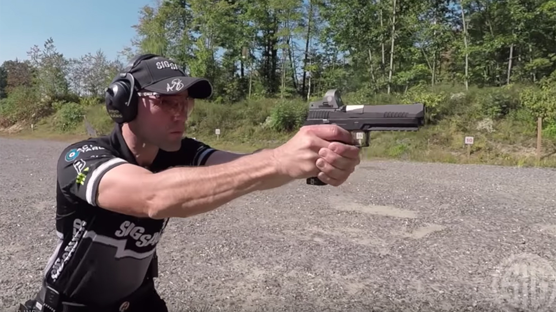 Shooting While Moving, Max Michel, Sig Sauer