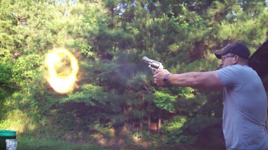 Kentucky Ballistics, Jerry Miculek world record, Smith & Wesson 500 Magnum revolver, speed record