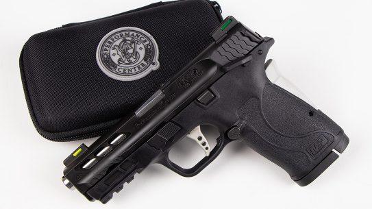 Performance Center M&P Shield 380 EZ Pistol review, handgun, lead