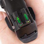 Performance Center M&P Shield 380 EZ Pistol review, sights