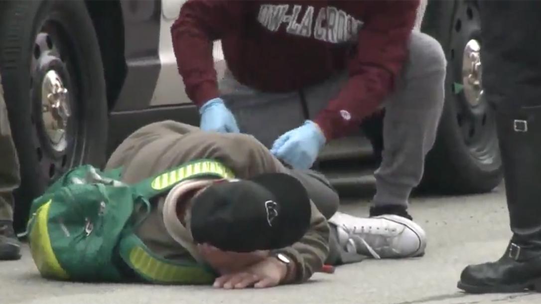 Milwaukee Police Headquarters Shooting