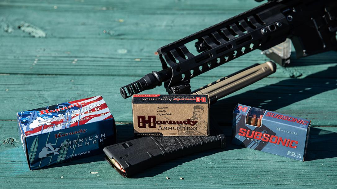 Hornady, ammunition, 300 Blackout