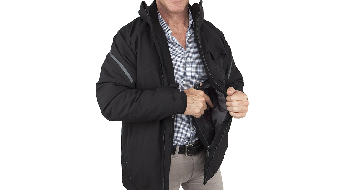 Carrying Concealed with UnderTech Undercover Elite Parka