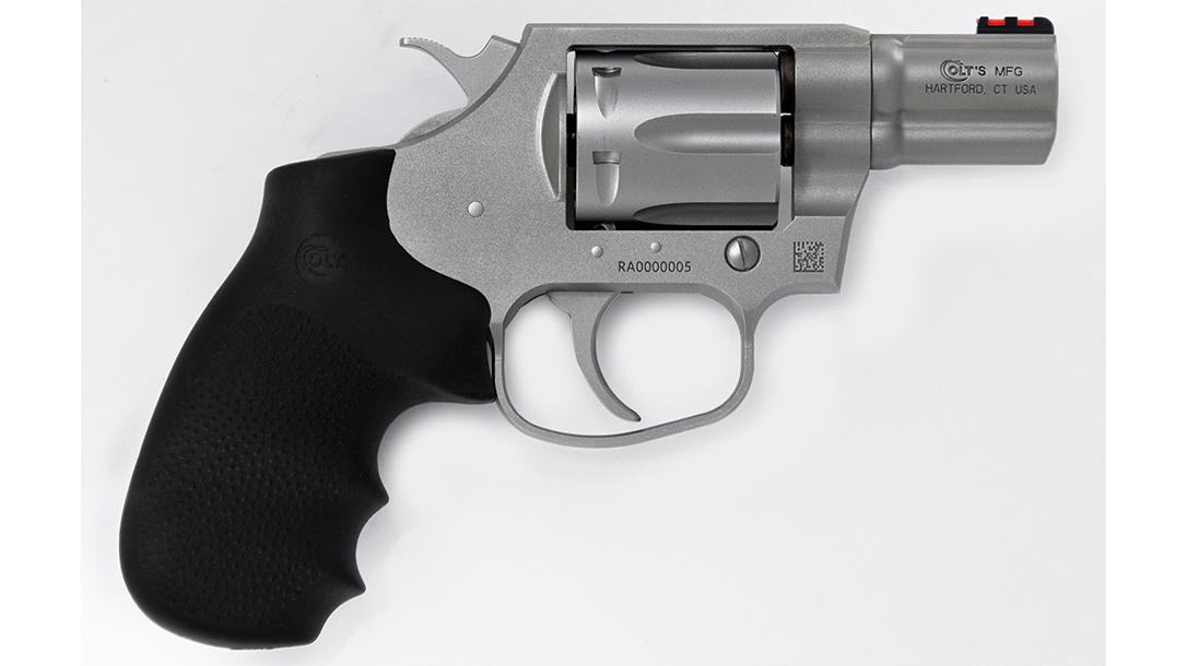 2-Inch Stainless Matte Colt Cobra Revolver
