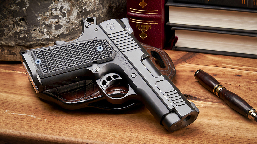 Nighthawk Counselor 1911 pistol, lead