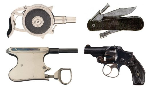 Unique Antique Pistols used for carry and self-defense