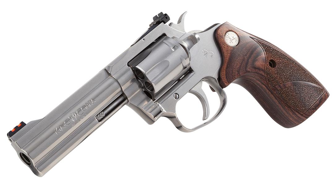 Colt's King Cobra Target features an adjustable rear sight.