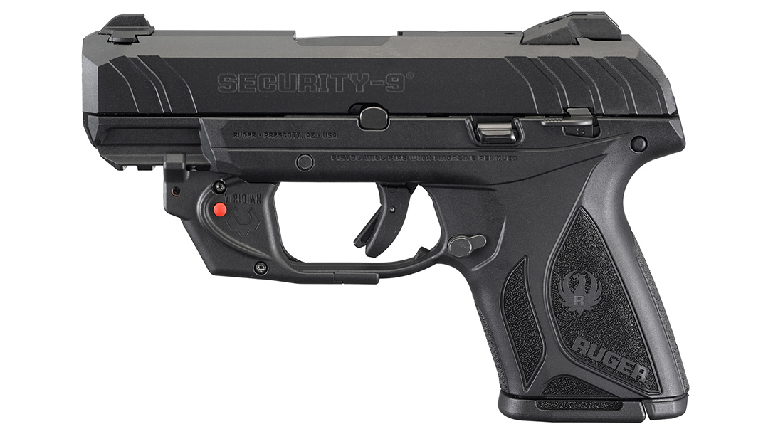 Ruger Security-9 Compact adds Viridian E Series laser