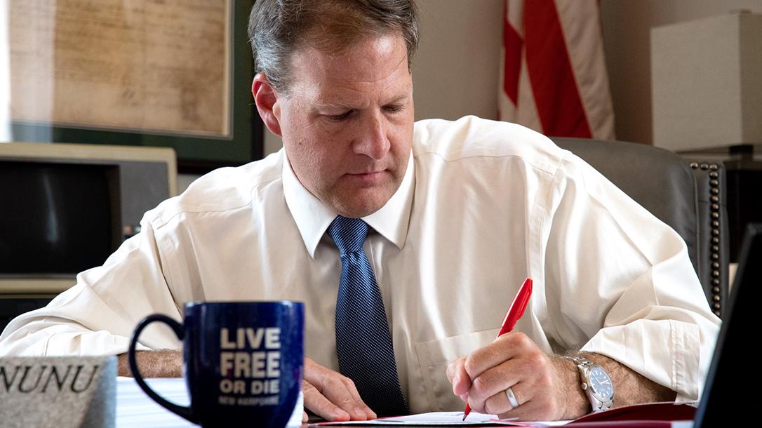 New Hampshire Gov. Chris Sununu vetoes gun control bills