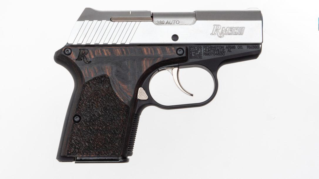 Remington RM380 Executive was designed for deep concealment