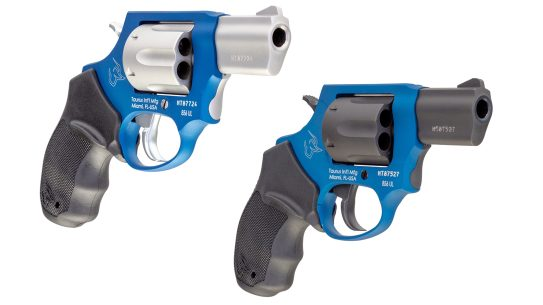 Taurus Adds Two Cobalt Blue models to 856UL revolver line
