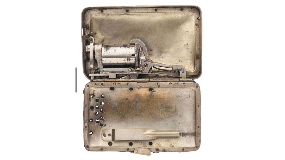 The Frankenau was designed for women as a pocketbook revolver.