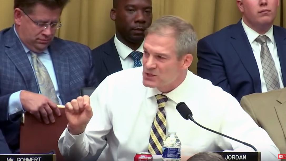 Rep. Jim Jordan spoke out against red flag laws.