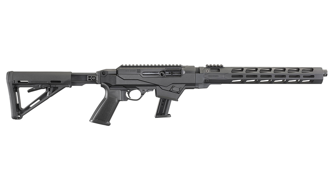 Pistol Caliber Carbine Chassis full length view.