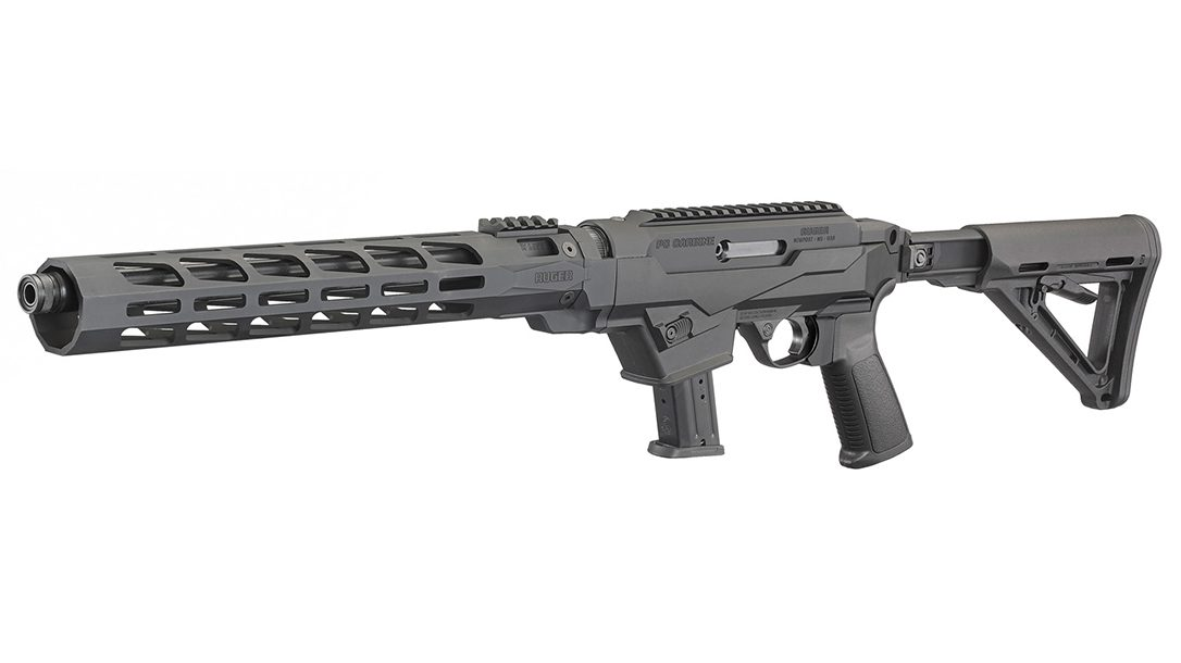 Ruger PC Carbine Chassis left side angle.