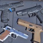 Race guns from Walther, SIG, EAA and Springfield impressed.