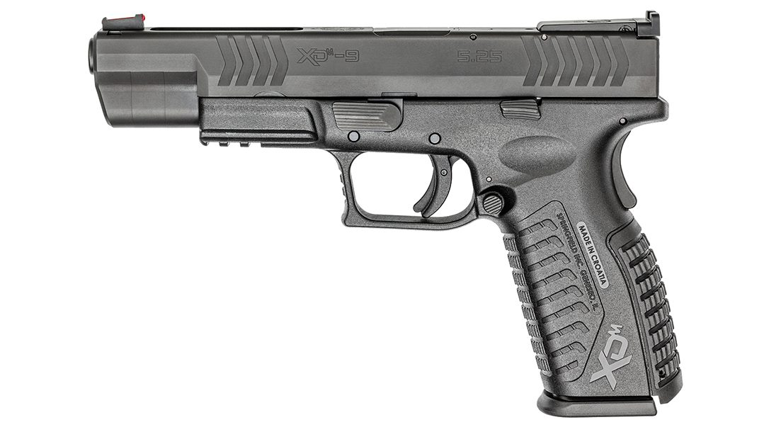 """The Springfield Armory XD-M 5"""" received a perfect score from the author."""