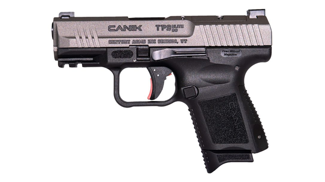 The Canik TP9 Elite SC packs several features into conceal carry package.