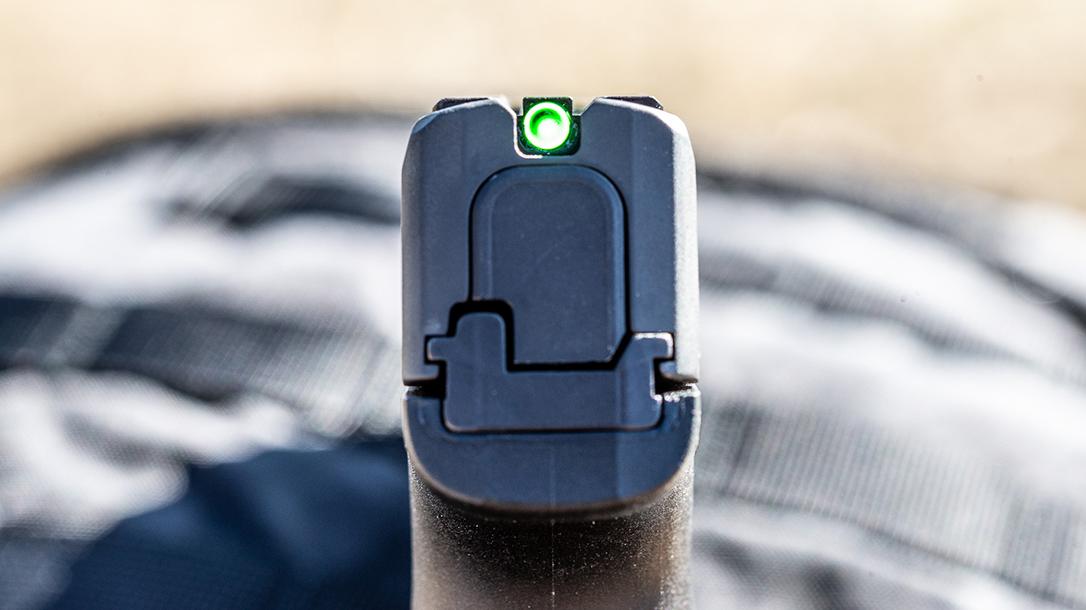 SIG P365 SAS, snag free Pistol, rear sight