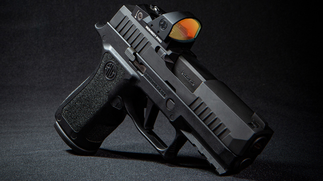 The SIG Romeo1Pro was built for carry optics pistol use.