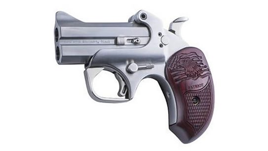 The Bond Arms Patriot honors military veterans.