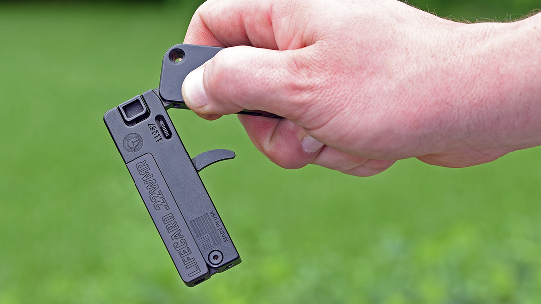 The author believed deploying the gun could be trained.
