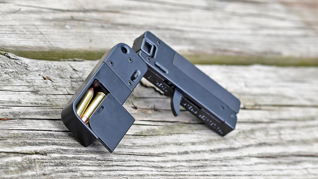 The 22 WMR Lifecard represents a unique take on an EDC pistol.