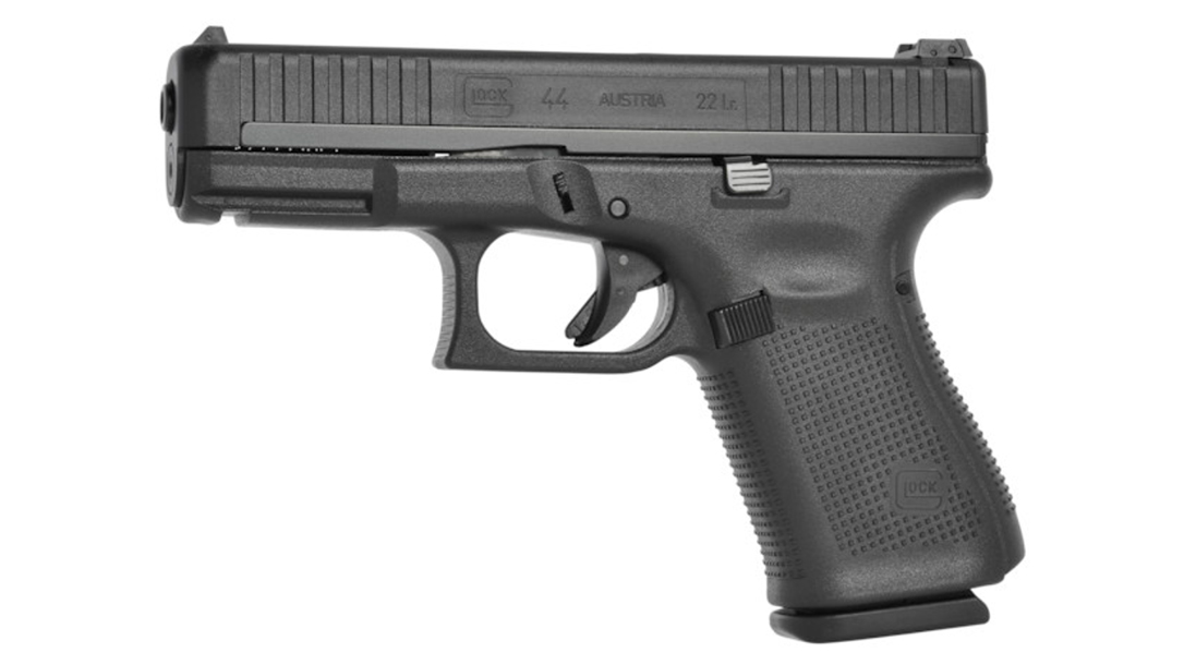 Chambered in .22 LR, the Glock 44 is billed as a gun for the entire family.