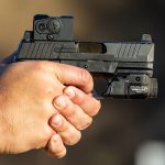 Built for EDC, the pistol shares many qualities and features with the Tactical line.