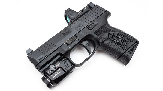 With the addition of a tactical light, the 509 C MRD is well-suited for both EDC and home defense.