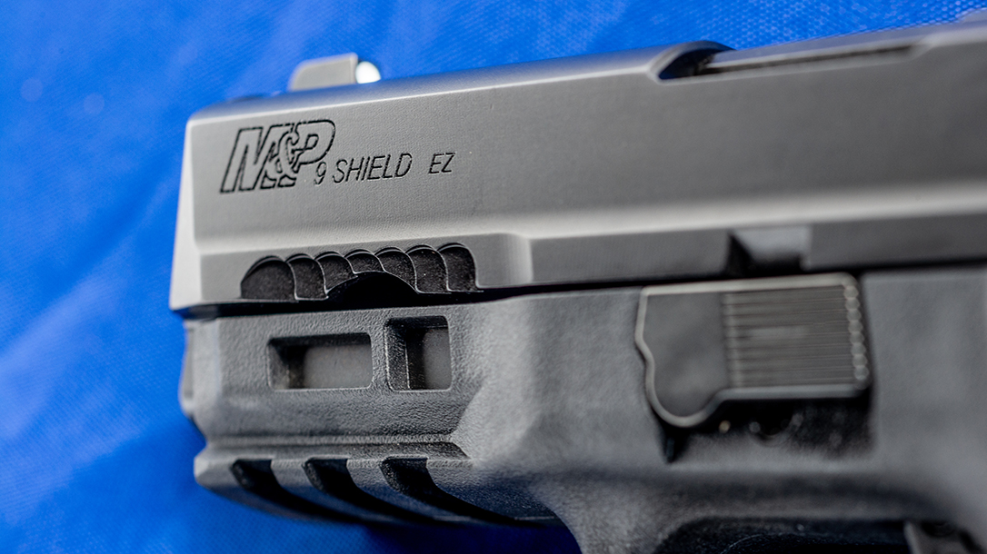 The updated Shield slide feature several cuts that provide purchase.