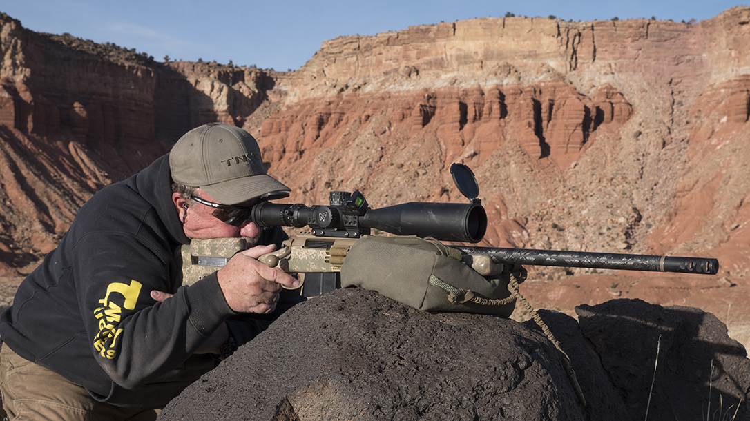 Dry fire your rifle from several different shooting positions.