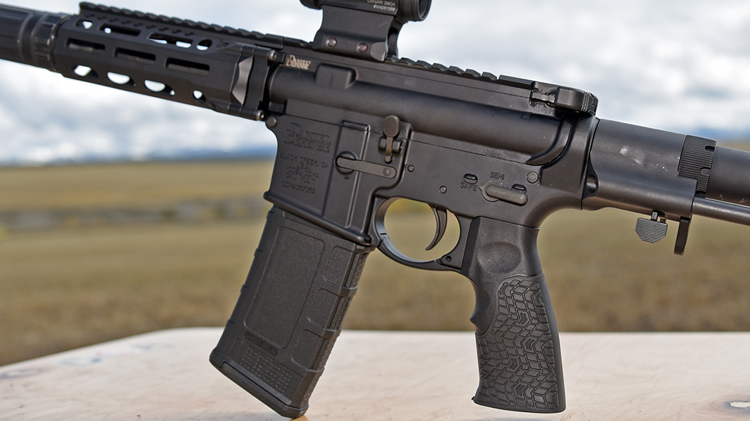 The compact package make the new pistol in 300 BLK great for self-defense.
