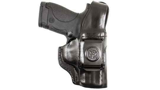 Featuring a thumb break, and crafted from saddle leather, the Inside Heat TB provides solid weapon retention.