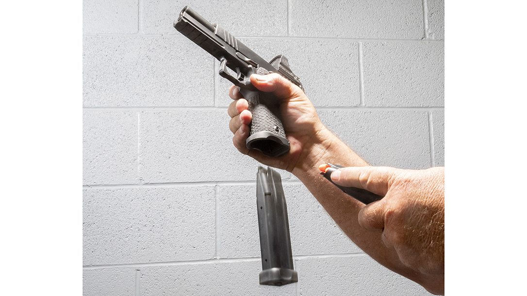 Know how to instinctively get the gun back into play when it runs dry.