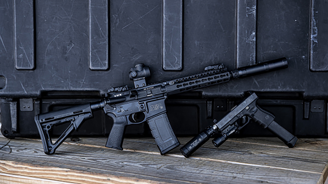 The two-piece Gemtech Lunar 9 gives options to shooters.
