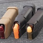 Dummy rounds help safely practice loading and malfunction drills.