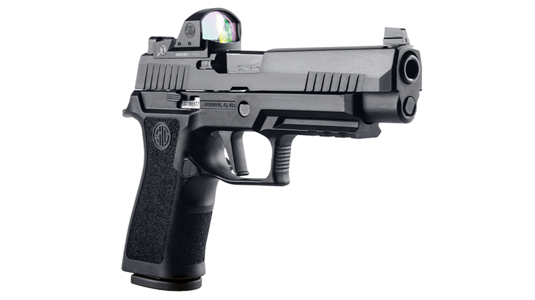 The new P320 RXP Series comes loaded with ROMEO optics.