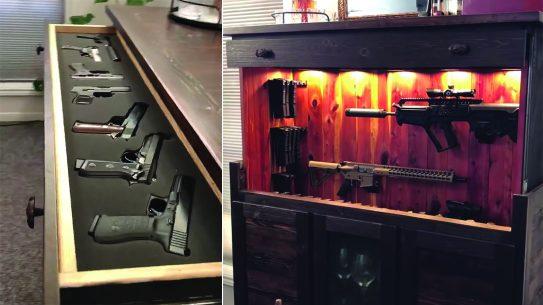 Alexa Controlled Gun Vault, hey alexa