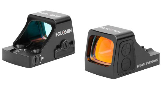 The Holosun HS407K and HS507K were designed to run on subcompact pistols for concealed carry.