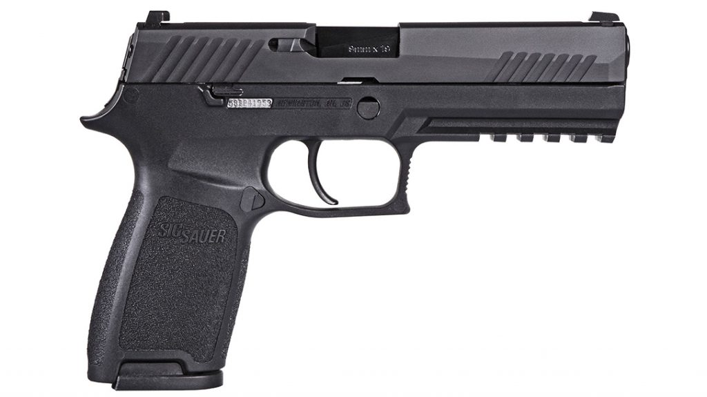 Best 9mm Pistol, The SIG Sauer P320, as the M18, serves the U.S. military.