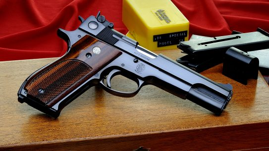 Based on the classic Model 39 and built to compete, the Smith & Wesson Model 52 dominated competition during its short-lived, historic run.
