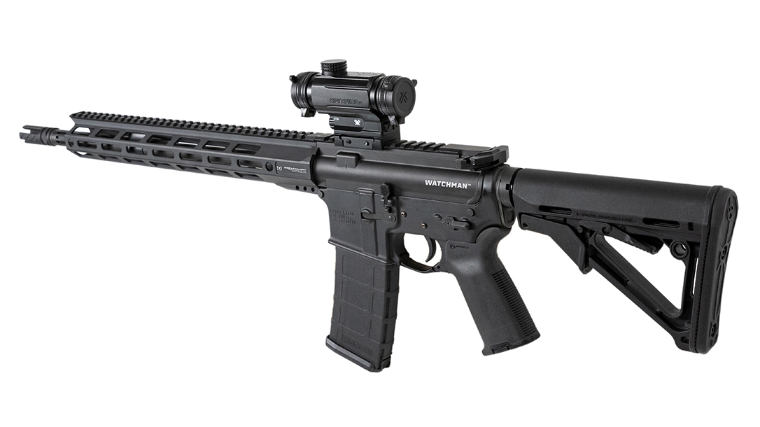Previously only available to law enforcement, the popular RISE Watchman rifle and pistol are headed to civilian market.