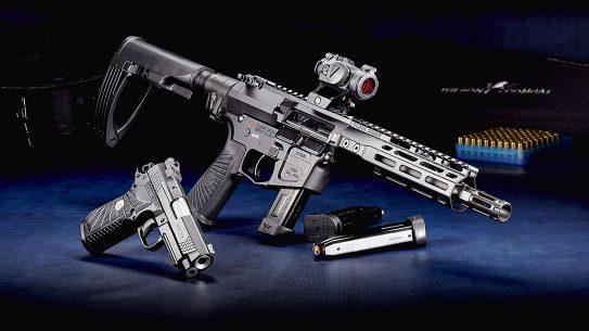 The new Wilson Combat AR9X series of rifles, pistols and SBRs run on EDC X9 magazines.