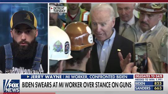 Jerry Wayne goes on 'Fox & Friends' to discuss debating Crazy Joe Biden.